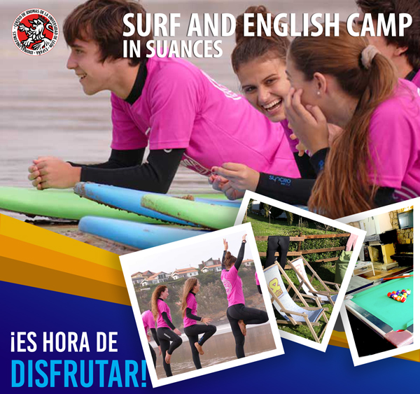 Surf and English Camp